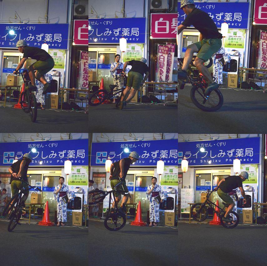 BMXフリースタイルショー